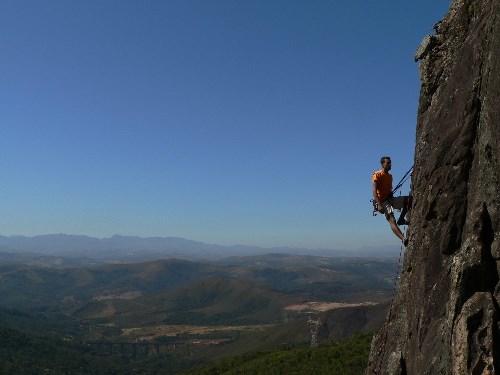Sport: Bergbeklimmen in Zuid Afrika