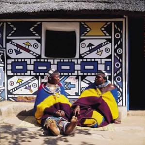 Zuid Afrika Ndebele