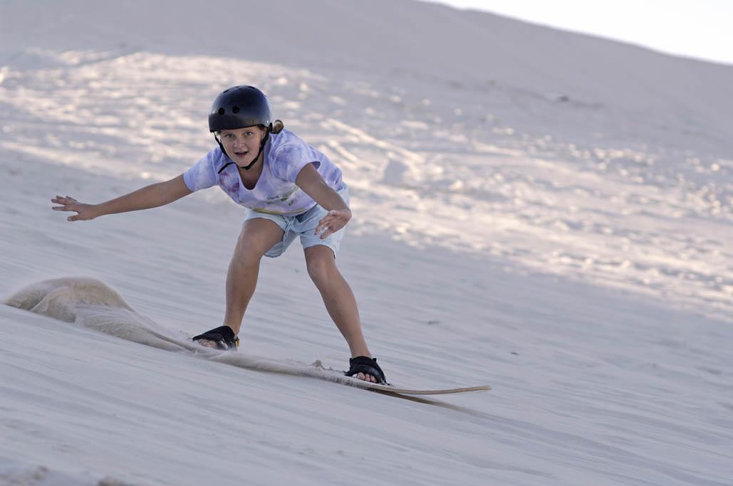 Sportief Zuid Afrika: sandboarden