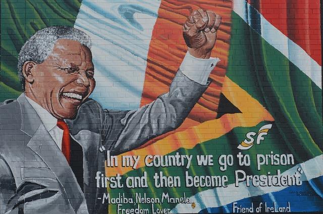 Biografie Nelson Mandela
